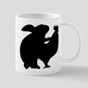 rabbit and chicken Mug