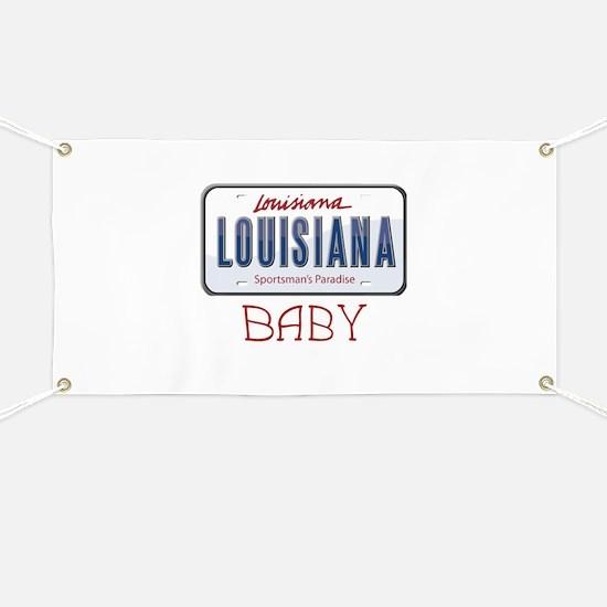 Louisiana Baby Banner