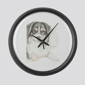 Dually Large Wall Clock