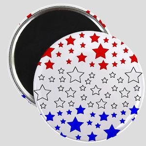 PATRIOTIC STARS Magnet