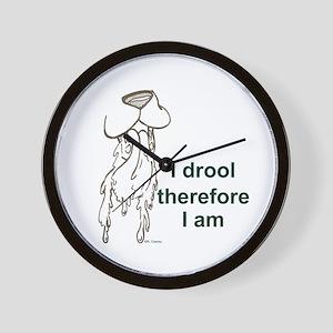 I drool Wall Clock