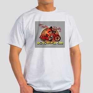 trashy booty motorcycle club Light T-Shirt