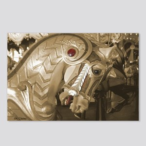 Sepia Color Hints Armored C H Postcards (Package o