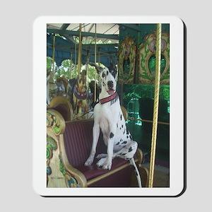 Carousel Chariot Harl Mousepad