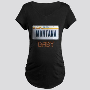 Montana Baby Maternity Dark T-Shirt