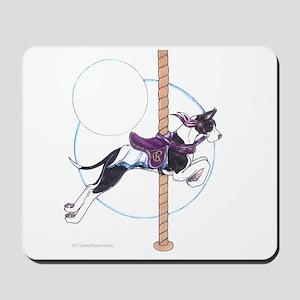 C Mantle Great Dane Carousel Jumper Mousepad