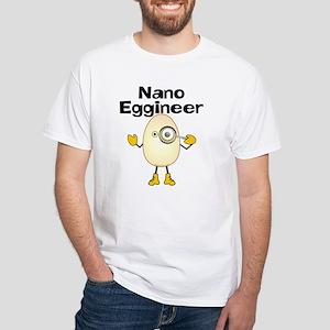 Nano Eggineer White T-Shirt