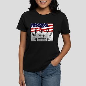 All Gave Some Women's Dark T-Shirt