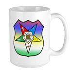 OES Shield Large Mug