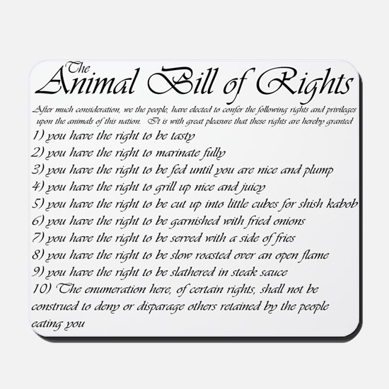 animal bill of rights essay erwc