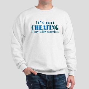 Wife Watches Sweatshirt
