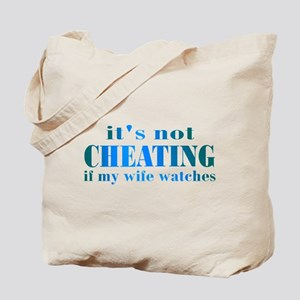 Wife Watches Tote Bag