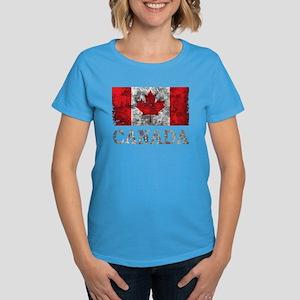 cd5c027f1255 Vintage Canada Women s Dark T-Shirt