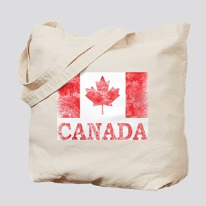 Vintage Canada Tote Bag