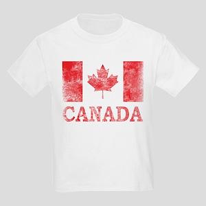 Vintage Canada Kids Light T-Shirt