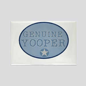 Genuine Yooper Rectangle Magnet