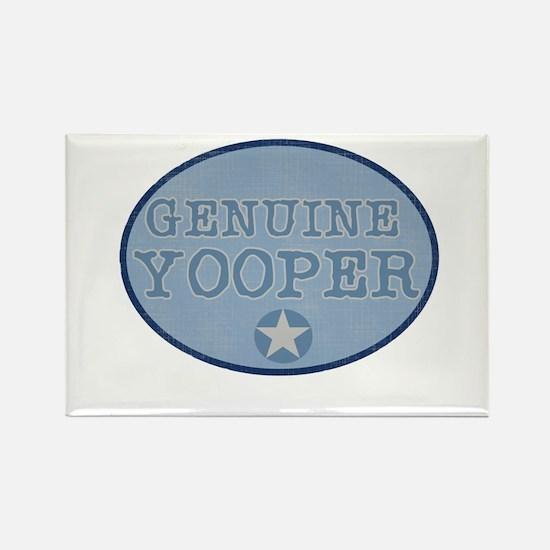 Genuine Yooper Rectangle Magnet