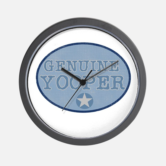Genuine Yooper Wall Clock