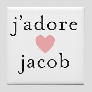 jacob Tile Coaster