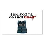"""If You Shoot Me"" Rectangle Sticker 50 pk)"