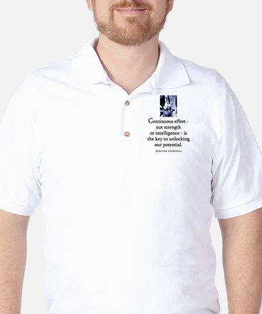 Continuous effort Golf Shirt