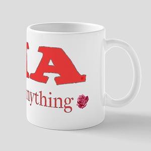 CIA cute in anything roses Mug