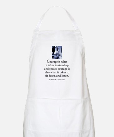 Takes courage BBQ Apron