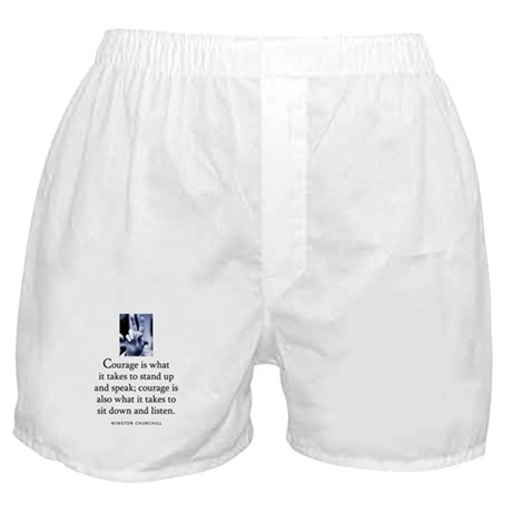 Takes courage Boxer Shorts
