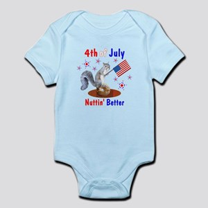 4th of July Infant Bodysuit