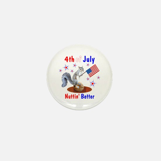 4th of July Mini Button