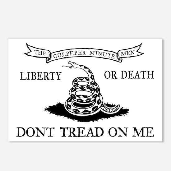 Culpeper Flag Postcards (Package of 8)