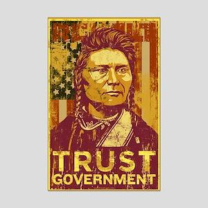 Trust Government Mini Poster Print