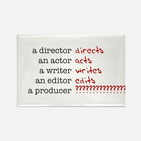 Film & TV Producer Rectangle Magnet