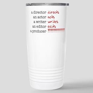 Film & TV Producer Stainless Steel Travel Mug