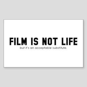 Filmmaker's Rectangle Sticker