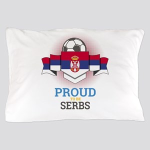Football Serbs Serbia Soccer Team Spor Pillow Case