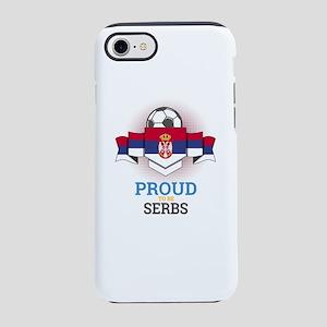 Football Serbs Serbia Soccer iPhone 8/7 Tough Case