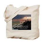 Fishing In Storm Tote Bag