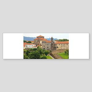 Convent of Santa Maria de Belvis, S Bumper Sticker