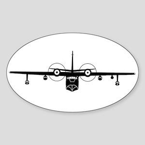 SA-16 Albatros Oval Sticker