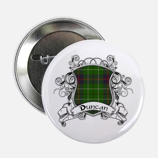 """Duncan Tartan Shield 2.25"""" Button"""