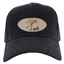 Funny On a Break Cat Umbrella Beach Baseball Hat