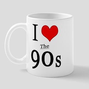 'I Love The 90s' Mug