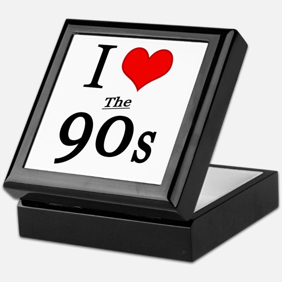 'I Love The 90s' Keepsake Box