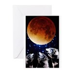 Three Wolf Moon Greeting Cards (Pk of 20)