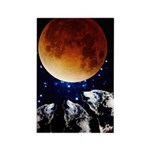 Three Wolf Moon Rectangle Magnet (100 pack)