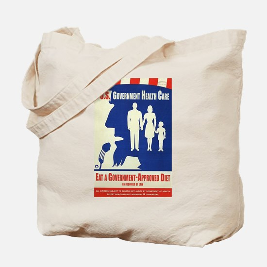 Government Diet Tote Bag