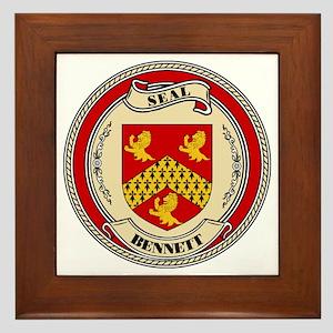 Seal - Bennett Framed Tile
