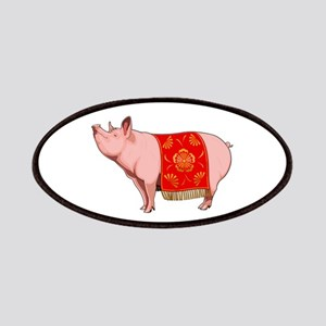 Chinese New Year Pig Patch