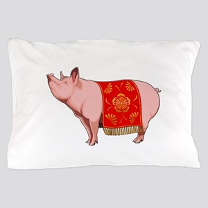 Chinese New Year Pig Pillow Case